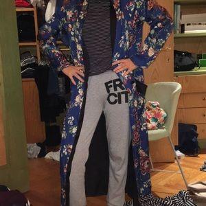 Zara women's floral kimono